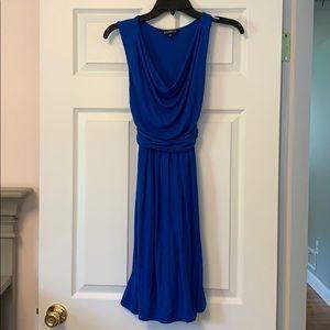 Worn once. Express royal blue dress. Size XS